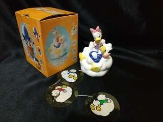 Disney 唐老鴨Donald Duck黛絲daisy 陶瓷風鈴