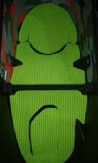 Yamaha Xmax 300. 2 Parts Rubber Based Seat Compartment Mat. Non-Slip.