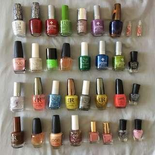 Assorted Nailpolish