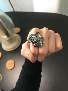 Swarovski Flower Jewellery Ring