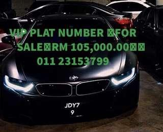 Plate number vip for sale free bike
