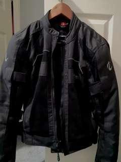 NEXO Sports Black Mesh Motorcycle Jacket