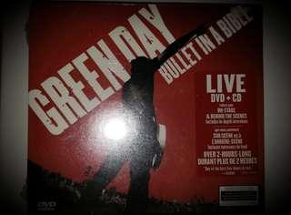 New - Green Day DVD & CD Set- sealed in orig plastic