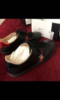 Gucci ace bee sneakers AUTHENTIC black