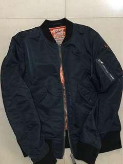 Schott bomber jacket (navy)