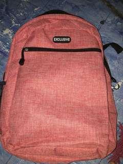 Light Red Backpack 16x12