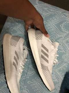 Adidas shoes.