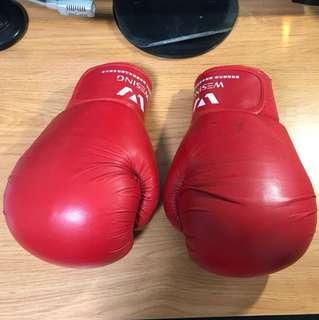 九日山12oz紅色拳套