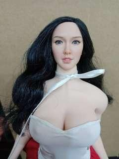 head only. hottoys phicen doll