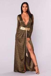 Fashion nova maxi dress
