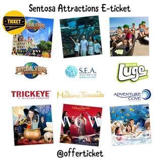 Sentosa Attractions Eticket