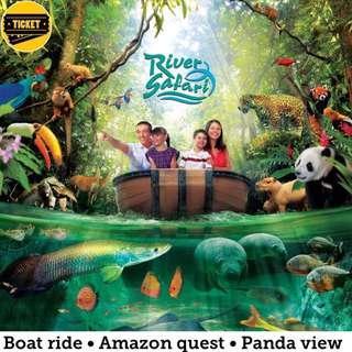 River Safari 🚩 $19 for Adult