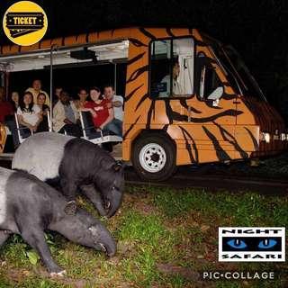 Night Safari 🚩 $25 for Adult