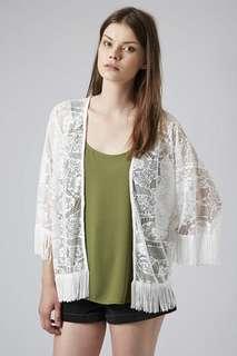 TOPSHOP Lace Kimono