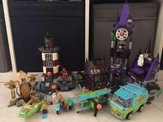 Lego Scooby Doo Bundle 75900 75901 75902 75903 75904