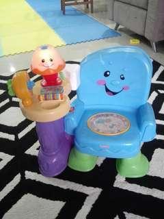 Fisher Price Musical Chair Kerusi budak Baby Chair