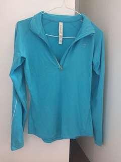 Lorna Jane half zip long sleeve top / jumper