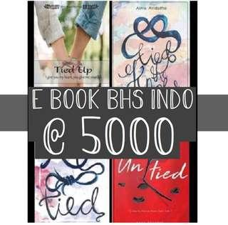 E BOOK BHS INDO Alma Aridatha (4 SET) Tied Up, Untied, Tie the Knot