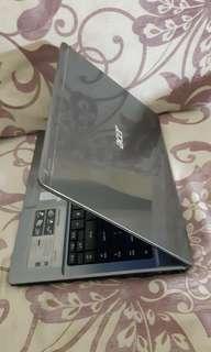 Acer 14 inchi body slim have body protektor