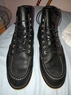 genuine made in USA Red Wing 8130 black