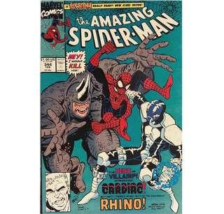 the AMAZING SPIDER-MAN #1 (1991) 1st Appearance of Cletus Kasady! (Carnage) & Cardiac