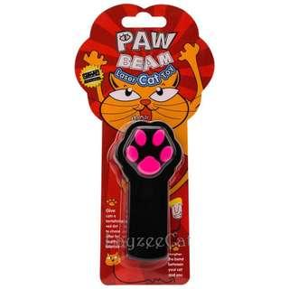 [Ready Stock] CT031 Paw Print LED Infrared Laser Cat Teaser Pen