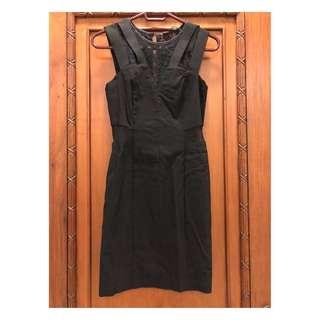 [MISS SELFRIDGE PETITES] Black Dress