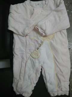 🚚 近新GMP厚棉連身衣