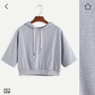 💕Cropped hoodie