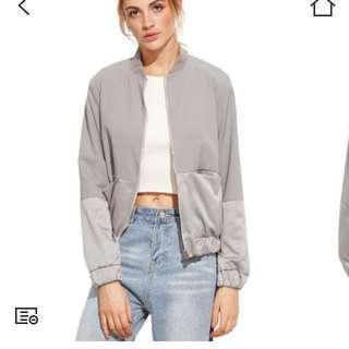 💕Silver jacket
