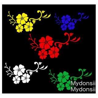 小花朵花瓣 Small flower petals sticker 創意車貼 個性貼 反光貼 裝飾貼 防水耐溫 Waterproof heat-resistant sticker Reflective, matte, glossy material