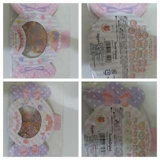 日本 Sanrio 袋裝 貼紙 Melody Little Twins Star