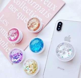 [PO] Glitter Pop-Socket