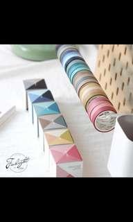 (PO) 4-IN-1 SOLID WASHI TAPE
