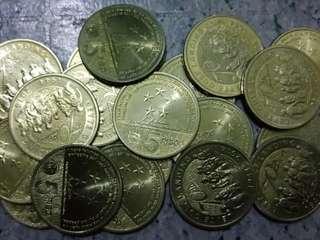 5-Piso Commemorative Coins