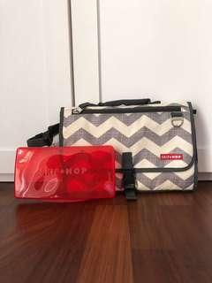 Skip Hop Diaper Clutch Chevron