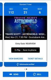 TRAVIS SCOTT TICKETS: WISH YOU HERE TOUR