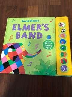 Elmer's Band Sound Book