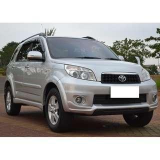 Toyota Rush G Automatic 2015 Tangan Pertama Istimewa