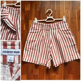 Country Road BNWOT shorts