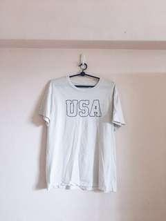 🚚 brandy melville rare embroidered usa top