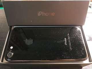 🚚 iphone7 128g 亮黑 盒裝完整