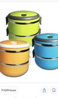 Brand new 2-tier lunch box (2 sets)