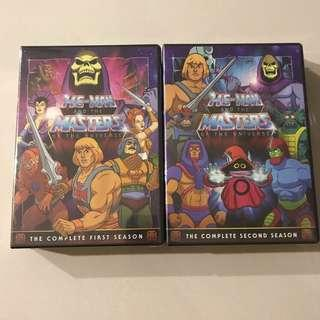 He-Man and the Masters of the Universe complete series dvd set