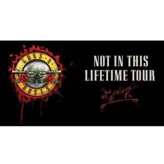 Guns N' Roses - Block A (Free Standing) - 20th November (1st Evening)