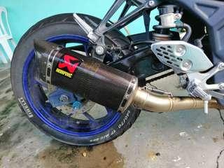 original akrapovic exhaust yamaha r25