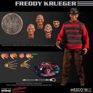 Mezco 1/12 Scale Nightmare on Elm Street : Freddy Krueger