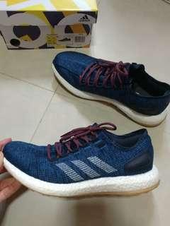 Adidas pure boost 藍色 Size US 9.5