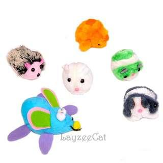 [Ready Stock] CT036 Vibrate CatNip Plush Toys