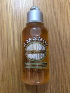 Loccitane shower oil